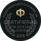 Certifieringslogo estetisk injecering